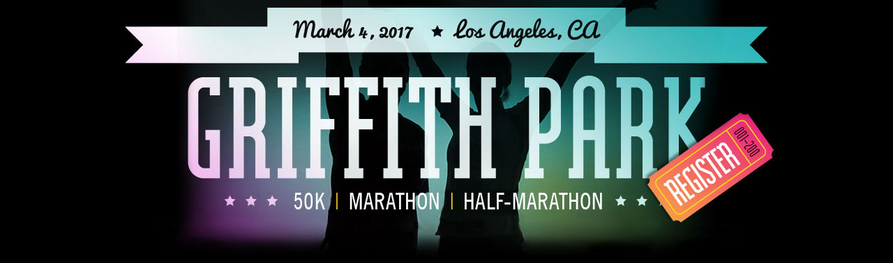 Griffith Park Trail 10k // Hollywood Trail Rockstar Series